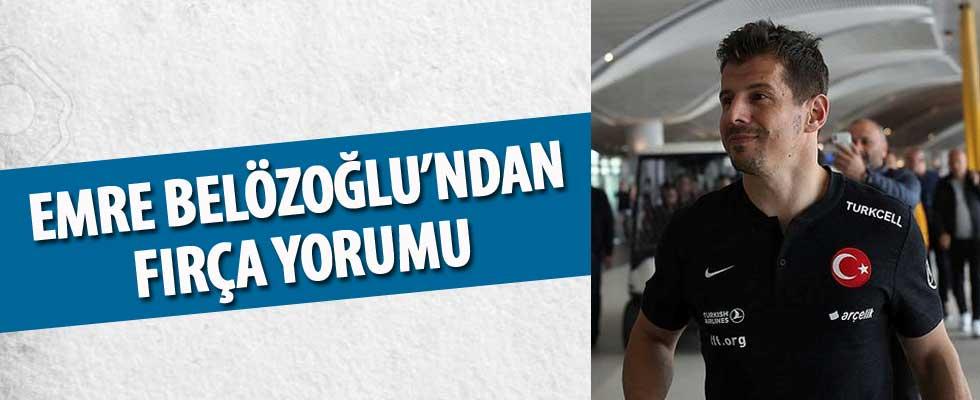 Emre Belözoğlu: Görüntüleri izledim ve şaşırdım
