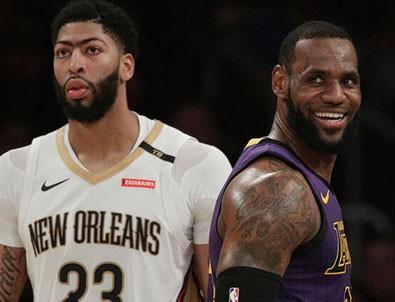 NBA'de yılın takası! Anthony Davis Lakers'a...