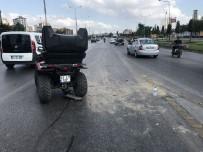 KOZYATAĞI - (Özel) D-100'De ATV Kazası Açıklaması 2 Yaralı