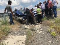 Tutak'ta Trafik Kazası Açıklaması 1 Ölü 2 Yaralı