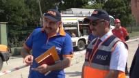 Samsun AFAD'dan Nefes Kesen Deprem Tatbikatı