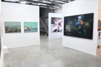 BURCU ÇETINKAYA - Türk Ve Suriyeli Ressamların Ortak Sergisine Büyük İlgi
