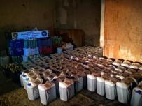 PAYALLAR - Alanya'da 6 Bin 570 Litre Kaçak Ve Sahte İçki Ele Geçirildi