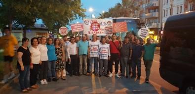 Belediyelerdeki İşten Çıkarmaları Protesto Etmek İçin Yürüyorlar