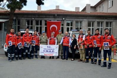 Erciyes 2019 Uluslararası Askeri Tatbikata Katılan UMKE Ekipleri Başarı Belgesi İle Ödüllendirildi