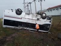 Nevşehir'de Minibüs Devrildi Açıklaması Çok Sayıda Yaralı Var