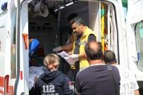 TÜP PATLAMASI - Tüp Patlamasında Yaralandı, Hava Ambulansı İle Sevk Edildi