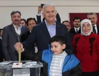 AK Parti ve Cumhur İttifakı adayı Yıldırım oyunu kullandı