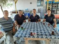 TEKMEN - Kaymakam Taşdan'dan Terör Gazisi Eldeniz'e Ziyaret