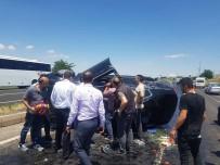 Nevşehir'de Trafik Kazası Açıklaması 2 Yaralı