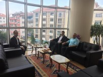 ALİ AĞAOĞLU - Başsavcı Demircan'dan Başkan Sever'e Veda Ziyareti