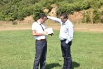 YAKUP KÖSE - Çan Belediye Başkanı Öz, Güreş Sahasını İnceledi