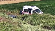 İş Seyahatinde Kaza Yapan Sürücü Öldü, Babası Yaralandı