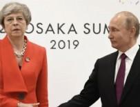 MANŞ DENIZI - May'den Putin'le görüşme öncesi sert mesaj!