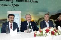 MEHMET MEHDİ EKER - TBMM Başkanı Şentop, Diyarbakır'da Vatandaşlarla Bayramlaştı