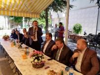 İBRAHIM ÖZKAN - Eroğlu, Bolvadin'de Bayramlaşma Törenine Katıldı
