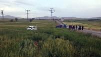 OVAKENT - Yozgat'ta Trafik Kazası Açıklaması 1 Ölü, 1 Yaralı