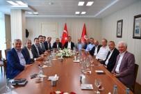 BÜLENT KERIMOĞLU - Başkan Gökhan Yüksel, CHP'li Belediye Başkanları Toplantısına Katıldı