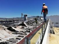 Isparta Kara Havacılık Okulu'ndaki Yangın Söndürüldü