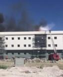 Kara Havacılık Okulu'nda İnşaat Halindeki Binada Yangın