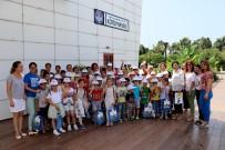 GEZİCİ KÜTÜPHANE - TEGV'li Minikler, Büyükşehir Belediyesi Kütüphanesini Ziyaret Etti