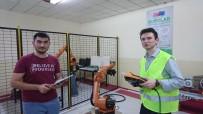 MERMERLER - Öğrenciler Mermer Sanayisinde Kullanılacak Mekanik Göz Üretti