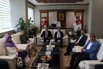 FEHMİ KÜPÇÜ - TBMM Dilekçe Komisyonu Başkanı Satır, Mersin Cumhuriyet Başsavcısı Ercan'ı Ziyaret Etti