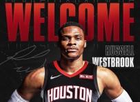 HOUSTON - Russell Westbrook Resmen Houston Rockets'ta