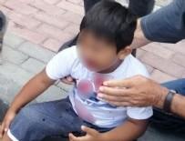 NATO - 3. kattan düşen çocuk yaralı kurtuldu