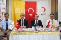 İFTAR YEMEĞİ - Rektör Kızılay, Kızılay'a Kurban Bağışında Bulundu