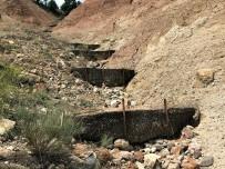 Erozyonla Mücadele Kapsamında Yaklaşık 5 Bin Metreküp Toprak Ve Çakıl Tutuldu