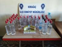 Kırkağaç'ta Sahte İçki Operasyonu