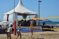 KUMKAPı - TVF Plaj Ligi Türkiye Şampiyonası Başladı