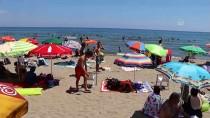 KUMBAĞ - Tekirdağ'da 'Mavi Bayraklı' Plajlarda Yoğunluk