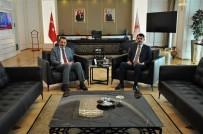 ALİ İHSAN YAVUZ - Başkan Işıksu, AK Parti Genel Başkan Yardımcısı Yavuz İle Buluştu