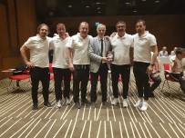 TOLUNAY KAFKAS - Futbol Antrenörlerine Kalp Masajı Eğitimi