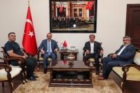 Başkan Durgut'dan Ordu Valisi Yavuz'a Ziyaret