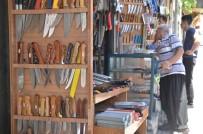 BIÇAKÇILIK - Kahramanmaraş'ta Kapalı Çarşı'da Bayram Hareketliliği