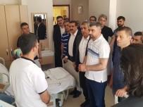 AK Parti Mardin İl Başkanı Kılıç'tan Darp Edilen Hekimlere Ziyaret