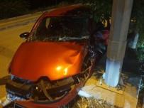 İHSAN DOĞRAMACI - Başkent'te Trafik Kazası Açıklaması 1 Yaralı