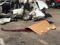 Adana'da Zincirleme Trafik Kazası  Açıklaması1 Ölü, 7 Yaralı