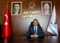 ÇANAKKALE BELEDİYESİ - AK Parti İl Başkanı Gültekin Yıldız Açıklaması 'Festivalin İptal Edilmesini Üzüntüyle Karşıladık'