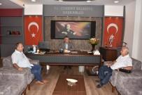 CEMİL ÇİÇEK - TBMM Eski Başkanı Cemil Çiçek Edremit Belediye Başkanı Hasan Arslan'ı Ziyaret Etti