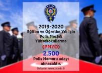 SINAV TAKVİMİ - 2 bin 500 polis memuru adayı alınacak
