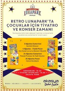 Retro Lunapark'ın Ağustos Programı Açıklandı