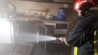 Bozova'da Mesken Yangını Korkuttu