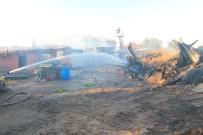 KıRCASALIH - Edirne'de Yangında 3 Ev Kül Oldu