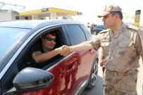 Jandarma Ekipleri Mardin'in Huzur Ve Güvenliği İçin Çalışıyor