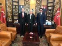 BAYRAM ZİYARETİ - Başkan Serkan Acar'dan Bahçeli'ye Bayram Ziyareti