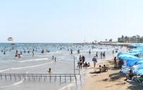 KıZKALESI - Büyükşehir Belediyesi Halk Plajları, Bayramda 50 Bin Tatilciyi Ağırladı